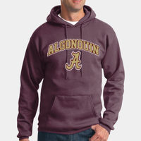 Algonquin - Tall Essential Fleece Pullover Hooded Sweatshirt Thumbnail
